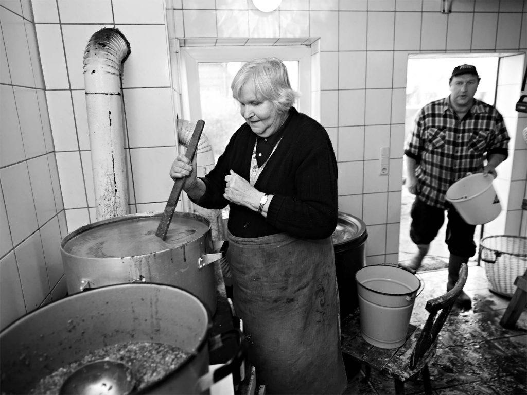 Ein Dorf in unserer Zeit - Fotograf Uwe Nölke