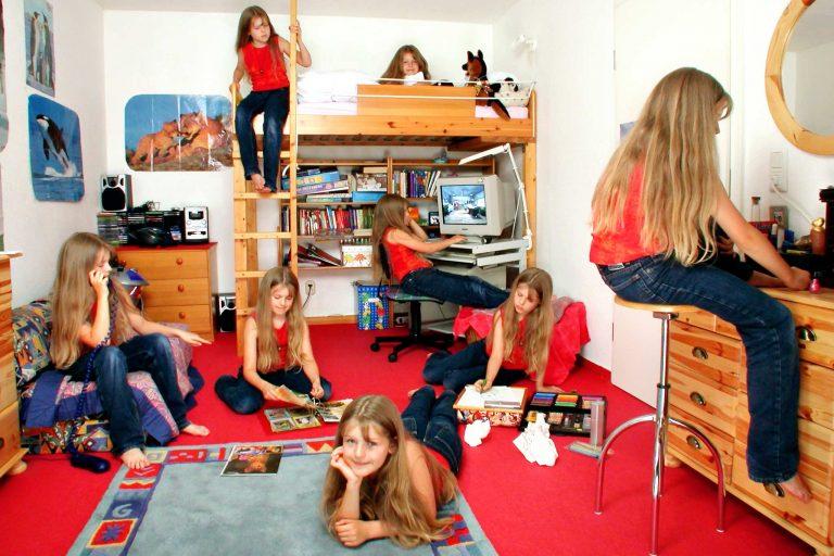 Kinderzimmer - Fotografie Multiple Identity 4