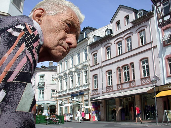 alter Mann - Street Photography Fotograf Uwe Nölke